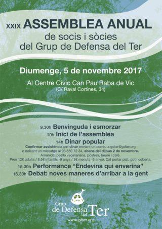 Assemblea anual de socis i sòcies del GDT