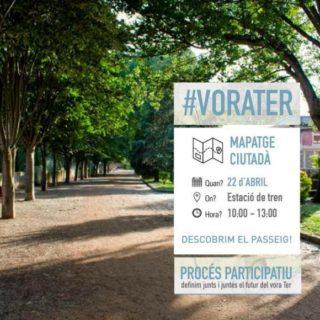 Mapeig ciutadà al Passeig Vora Ter de Manlleu